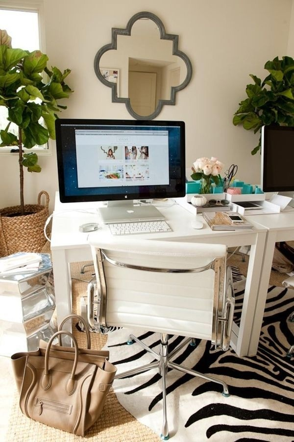 Home Office Style #office #home office #minimal office