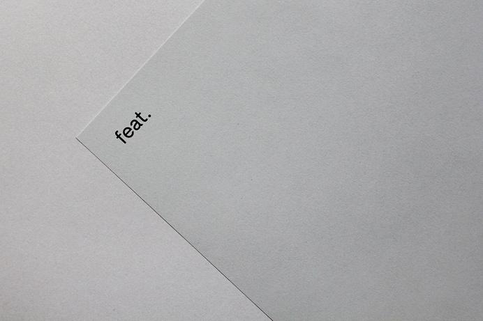 Feat. Produktion Identity Branding identity corporate design modern minimal best beauty beautiful black dark logo geometry line lines moby d