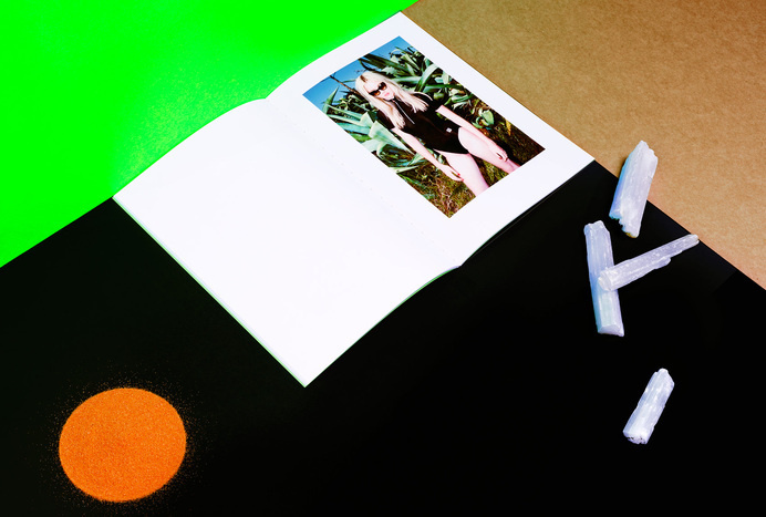 duo d uo   creative studio   She is Frank – Fire & Ice #emboss #design #publication #landscape #photography #fashion #fluro #green