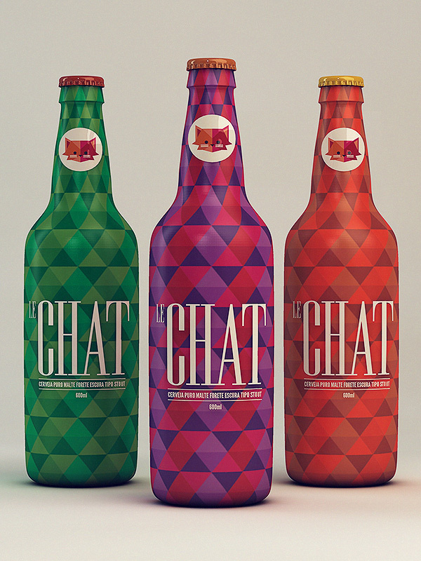 Visual Graphic Le Chat #visual #branding #packaging #design #graphic #product #identity