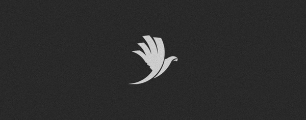 too many logos on Branding Served #wing #logo #stripes #bird