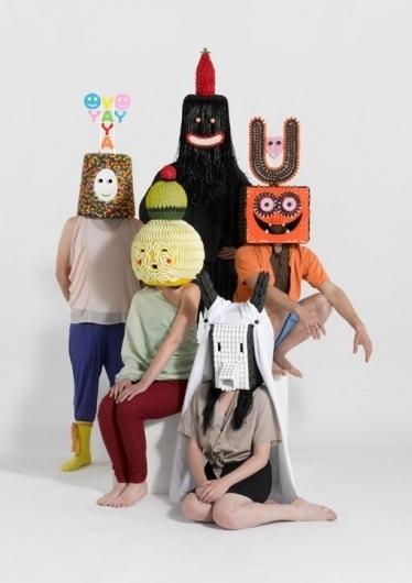Masks & Candies - Damien Poulain #masks #characters
