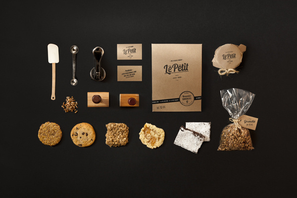 Le Petit Bakery #emboss #stamp #bakery #business #card #mexico #mno