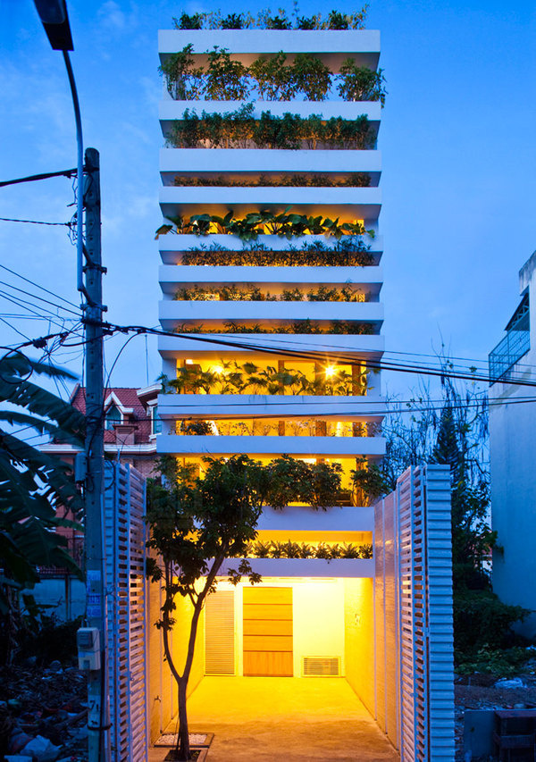 vo trong nghia architects layers plantation for stacking green #home
