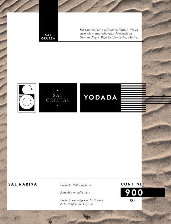 Sal Cristal, label #greek #packaging #mexico #label #sand #salt #bcs