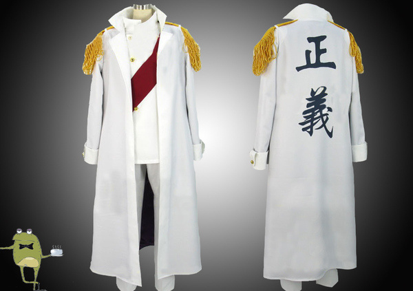One Piece Sengoku Cosplay Costume Marine Admiral Uniform #sengoku #costume #cosplay : admiral jacket costume  - Germanpascual.Com