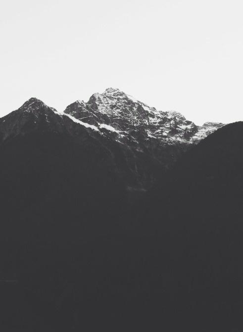 Mountains #blackwhite #photography #mountains #nature