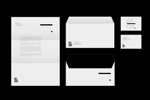 DIOP #spain #branding #clear #design #graphic #black #identity #logo