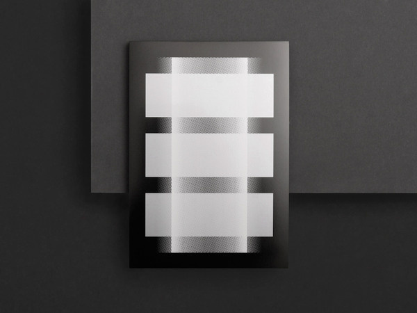 Kasper Florio #white #edition #graphic #black #gradient #bw