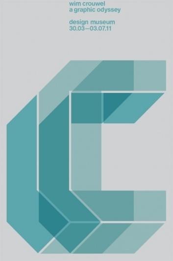 Design Museum Shop: Exhibition Products > Current Exhibitions > Wim Crouwel, A Graphic Odyssey > Wim Crouwel 'C' Portfolio - Set of Five Prints #london #print #design #exhibition #spin #crouwel #poster #wim #typography