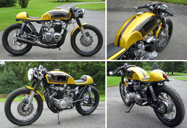 CB550 CafeRacer Pipeburn Purveyors of Classic Motorcycles, Cafe Racers #racer #cafe #honda #custom #bike #motorcycle
