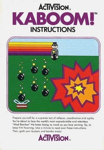 Atari - Kaboom | Flickr - Photo Sharing! #video #booklet #games #manual
