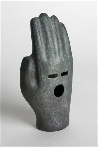 The Supermarket #bronze #sculpture #hand #art