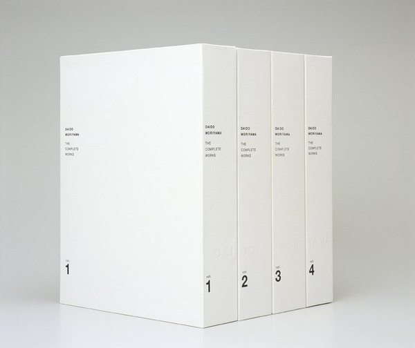 THEARTISTANDHISMODEL » Daido Moriyama Complete Works vol 1 4 #book #typography
