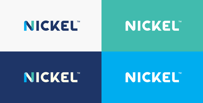 Nickel Labs Logo Branding by Javier Garcia