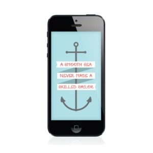 Image of A Smooth Sea | iPhone 4 & iPhone 5 Wallpaper #iphone #illustration #wallpaper