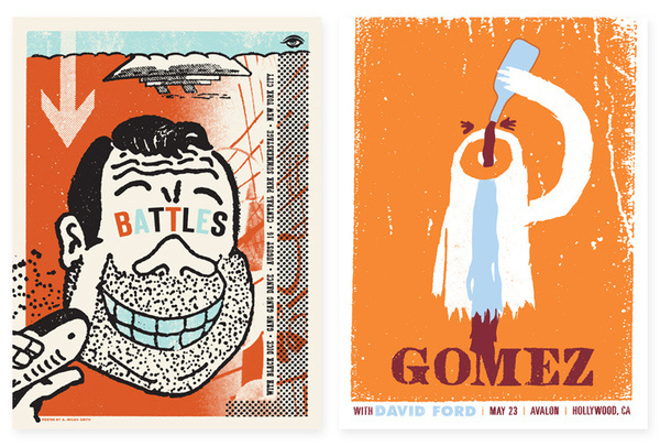 A. Micah Smith #gig #illustration #show #poster #music