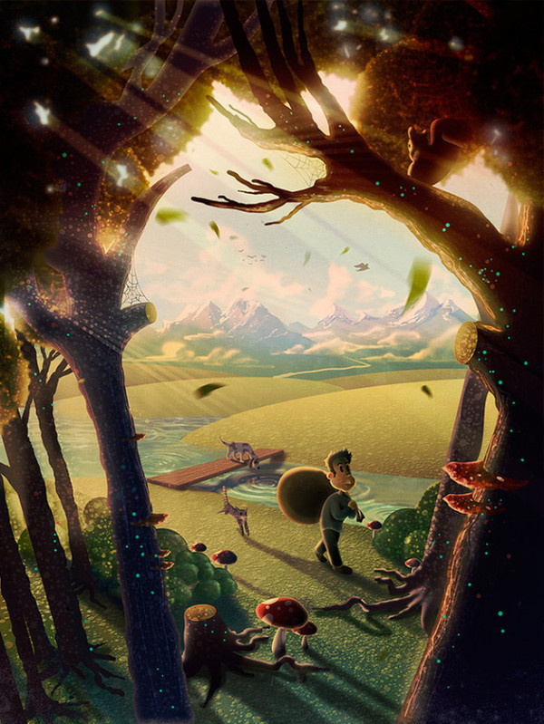 Illustrations by Aaron Campbell #arts #illustrations #inspirations