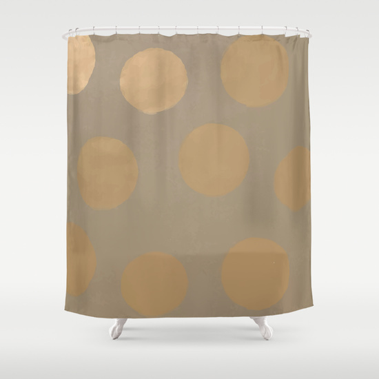 Customize your bathroom decor with unique shower curtains designed by artists around the world.