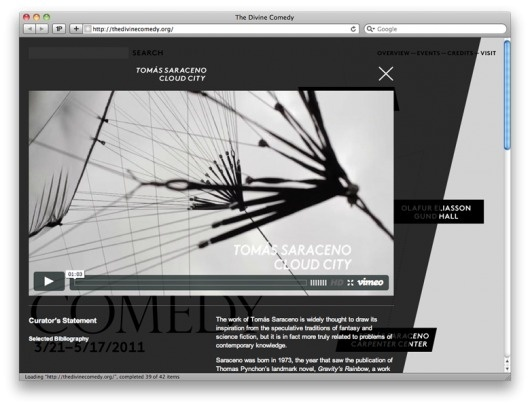 Project Projects — The Divine Comedy #website