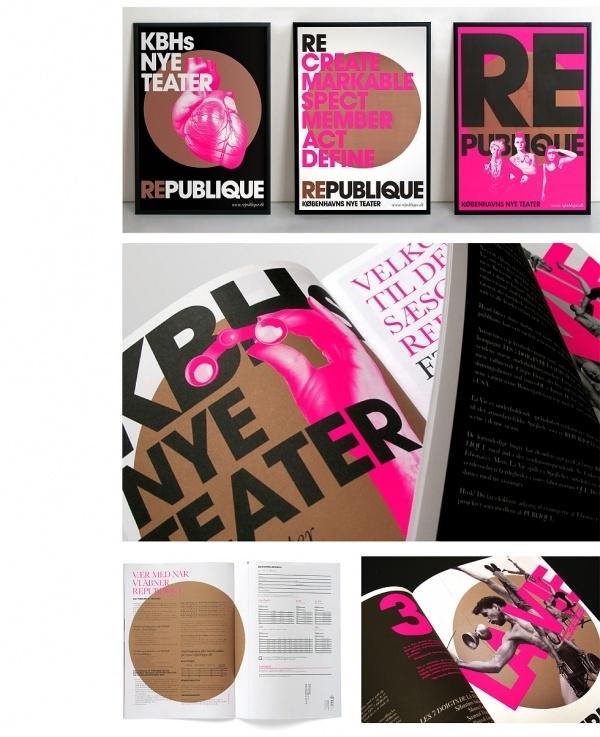 Republique Theatre S1 | Scandinavian DesignLab #print #design #poster #typography