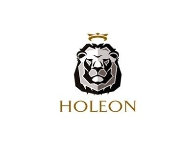 Dribbble - Holeon by Type and Signs #crown #logo #lion #identity