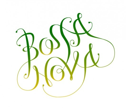 BossaLogo-RGB.png (PNG Image, 800×700 pixels) #lettering #design #graphic #type #typography