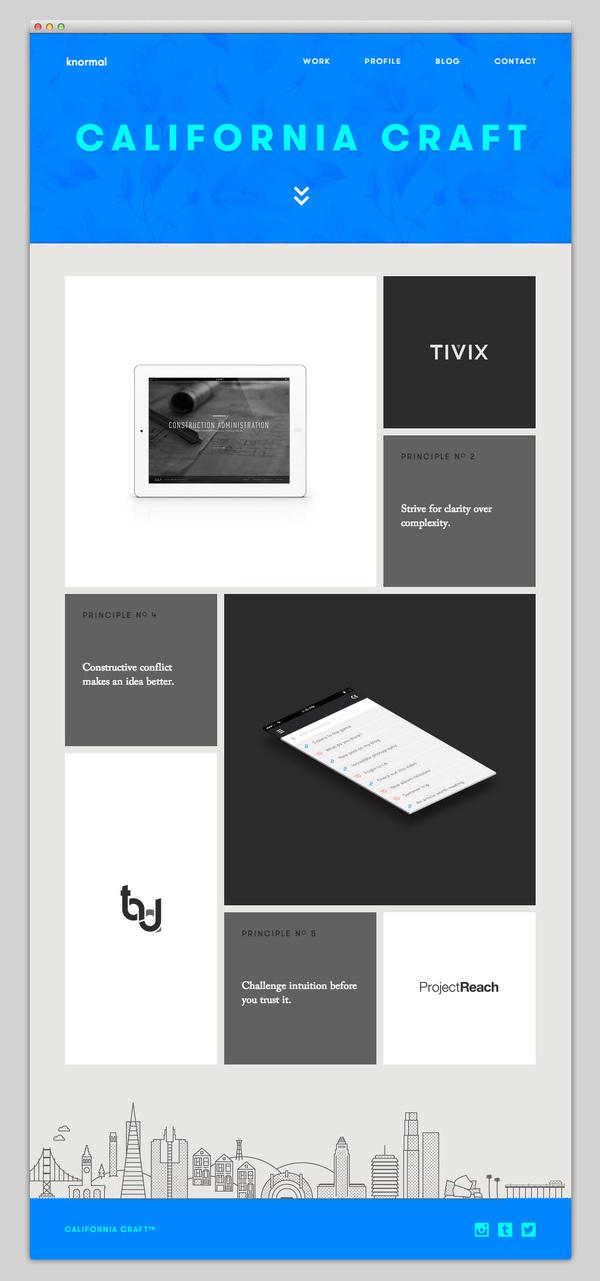 Knormal #website #layout #design #web