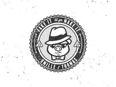 Dribbble - Umille & Thomas by Nathan Walker #logo #lockup #clothing #nathanwalker