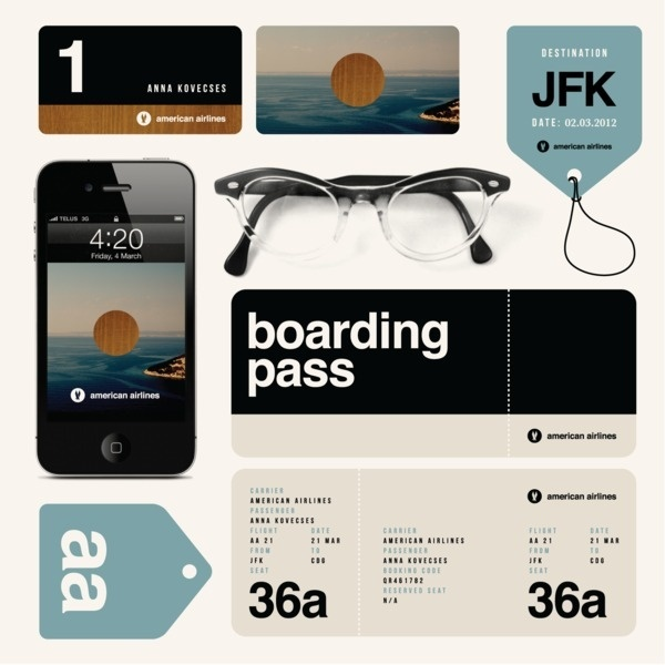 Experimental ID for American Airlines on the Behance Network #branding