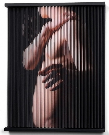 Elastic Strings by Hong Sungchul | 123 Inspiration #elastic #sungchul #south #sculptures #hong #korean #three #artist #dimensional