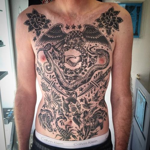 tattoos, american traditional