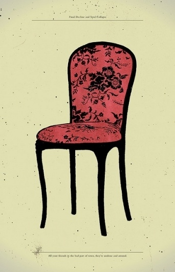All sizes   Final Decline & Total Collapse   Flickr - Photo Sharing! #gerace #chair #illustration #anthony