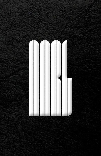 AARL, worldwide business developer #logotype #design #graphic #monochrom #leather #logo