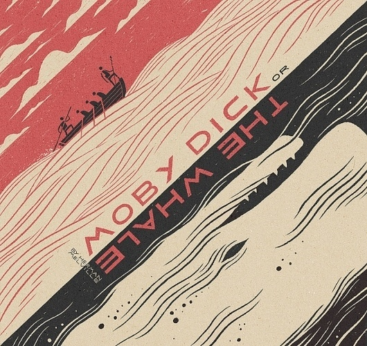 Moby Dick | Flickr - Photo Sharing! #illustration #moby #dick
