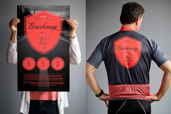 Cycle Kids, Breakaway on Behance #logo #shield #poster #shirt