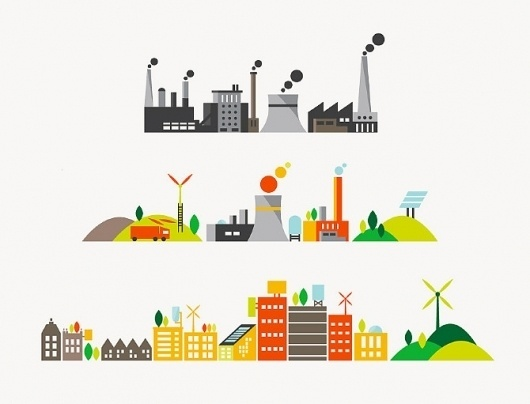 Breathe Energy - Parko Polo #illustration #building