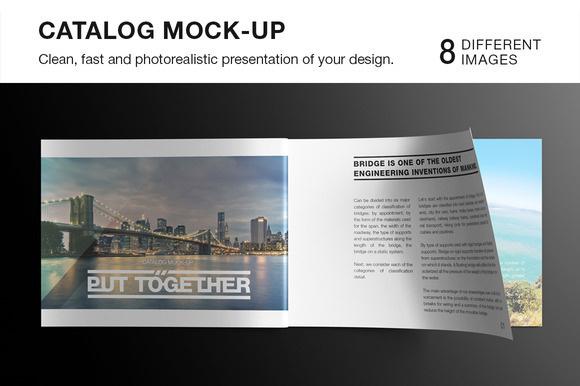 Landscape Magazine / Catalog Mockup https://creativemarket.com/itembridge/20244-Landscape-Magazine-Catalog-Mockup Features: — 8 photorea #mock-up #pages #page #mock #opened #closed #catalog #mockup #photo #template #presentation #photorealistic #smart #up #studio #brochure #object #jurnal #paper #magazine
