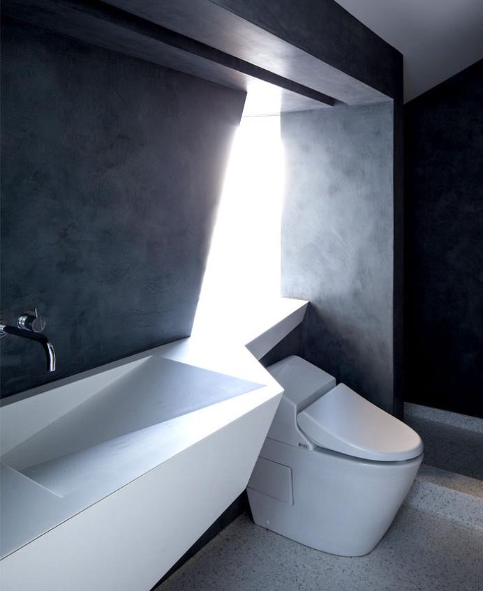 Sunny and Elegant Montee Karp Residence -#bathroom, #bath, #interior, #decor, home, bathroom