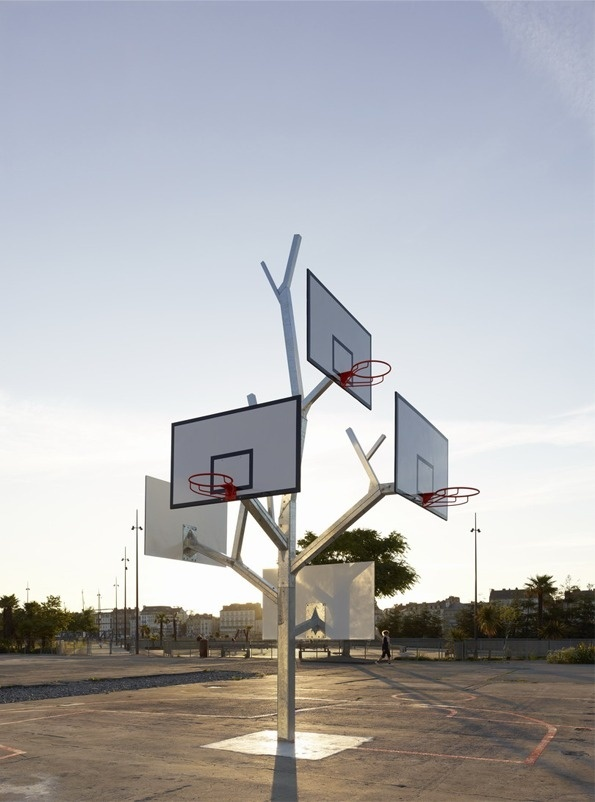 It's Nice That : Branching out - A/LTA Architects' Basketball Tree is a real winner #basketball