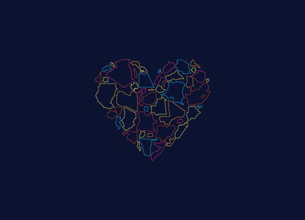 Efrika.Tv Branding #weme #icon #africa #illustration #africas #love #efrikatv