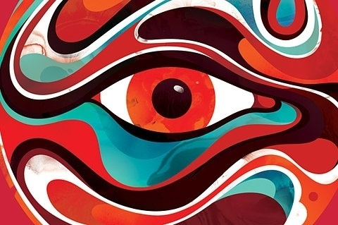 FFFFOUND! | Typography Experiments 1 :: Typography Served #eye #color
