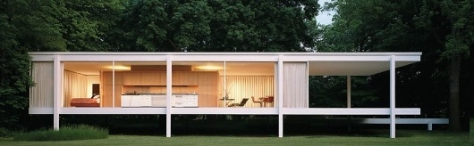 Google Image Result for http://history-of-architecture-frank.wiki.uml.edu/file/view/farnsworth_rearext.jpg/99802553/farnsworth_rearext.jpg #international #van #der #rohe #architecture #mies #modernism #style