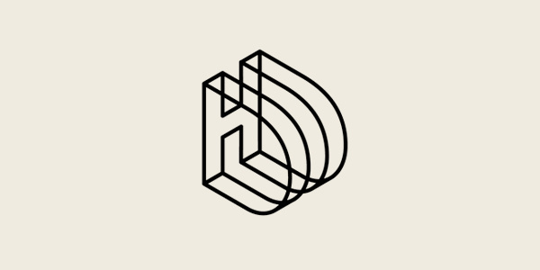 Between | User experience design #logo #geometry #3d #geometric