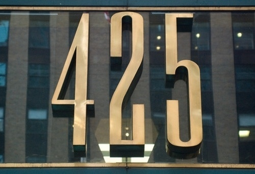 NYC Type | NYC Typography #type #425 #nyc