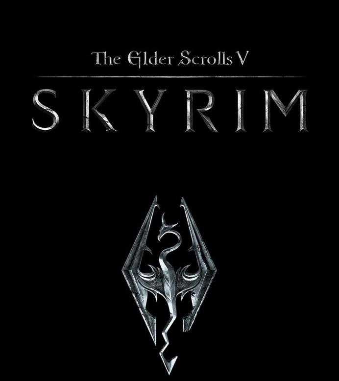 Skyrim Logo Identity / Dragon Symbol