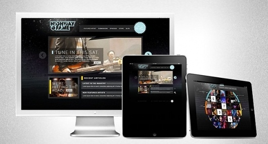 Nashville Web Design ★ Plasticmonument ©2011 #iphone #design #web #ipad