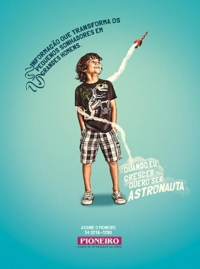 Astronauta | Flickr - Photo Sharing! #design #advertising