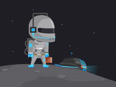HNY 2014 #happy #year #astronaut #celebration #space #spaceship #planet #new