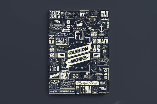 visualgraphic: Fashion Works by Fabian De Lange | Awesome Design Inspiration #type